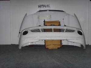 Hyundai H1 2001-2008 μετώπη-μούρη εμπρός κομπλέ άσπρο