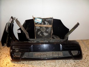 Mercedes vaneo W414 2002-2005 μετώπη εμπρός κομπλέ μαύρο