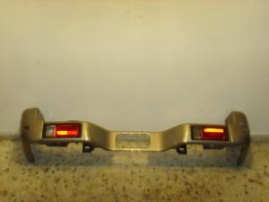 Mitsubishi Galloper 1998-2003 πίσω προφυλακτήρας ασημί σκούρο