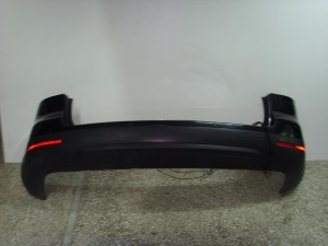 VW touareg 03-07 πίσω προφυλακτήρας μαύρος