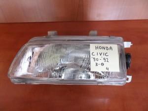 Honda civic 1990-1992 3P φανάρι εμπρός αριστερό