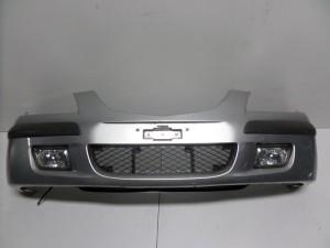 Mazda Premacy 1999-2004 προφυλακτήρας εμπρός ασημί