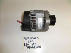 Alfa romeo 145 1999-2001 1.9cc diesel δυναμό