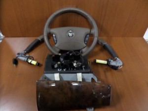 Jaguar XJ (X 350) 2003-2007 σετ airbag
