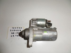 Skoda Superb 2008-2013 1.9cc TDi μίζα