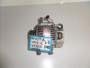 Toyota Yaris Verso Diesel 1999-2004 δυναμό