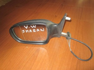 VW Sharan 1995-2004 Seat Alhambra 1995-2000 Ford Galaxy 1995-2000 μηχανικός καθρέπτης αριστερός άβαφος