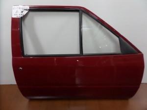 Citroen AX 1986-1998 2θυρο δεξιά πόρτα κόκκινη