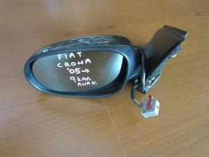Fiat croma 2005-2011 ηλεκτρικός ανακλινόμενος καθρέπτης αριστερός ανθρακί (9 καλώδια)