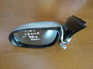Fiat croma 2005-2011 ηλεκτρικός καθρέπτης αριστερός ασημί (7 καλώδια-γυαλιστερό πλαίσιο)
