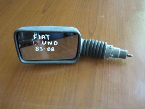 Fiat uno 1983-1989 μηχανικός καθρέπτης αριστερός άβαφος