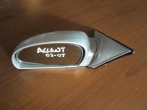 Hyundai accent 2003-2005 ηλεκτρικός καθρέπτης αριστερός ασημί