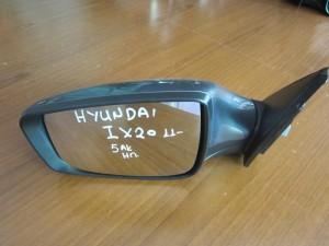 Hyundai IX20 2011-2017 ηλεκτρικός καθρέπτης αριστερός γκρί (5 ακίδες)