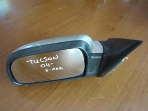 Hyundai tucson 2004-2010 ηλεκτρικός καθρέπτης αριστερός ασημί (5 ακίδες)