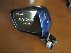 Lexus RX 300 1999-2003 ηλεκτρικός καθρέπτης αριστερός μπλέ (7 καλώδια)