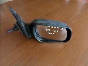 Mazda 2 2003-2007 μηχανικός καθρέπτης δεξιός άβαφος