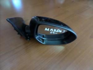 Mazda 3 2009-2013 ηλεκτρικός ανακλινόμενος καθρέπτης δεξιός μαύρος
