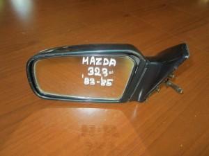 Mazda 323 1983-1985 μηχανικός καθρέπτης αριστερός σκούρο πράσινο
