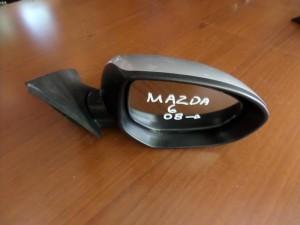 Mazda 6 2008-2012 ηλεκτρικός ανακλινόμενος καθρέπτης δεξιός ασημί