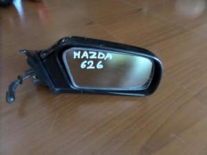 Mazda 626 1988-1992 μηχανικός καθρέπτης δεξιός μαύρος