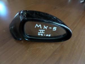 Mazda MX-5 1999-2005 καθρέπτης δεξιός μαύρος