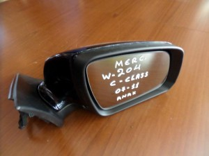 Mercedes C class w204 2007-2011 ηλεκτρικός ανακλινόμενος καθρέπτης δεξιός μπλέ σκούρο