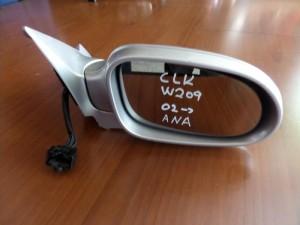 Mercedes CLK w209 2002-2009 ηλεκτρικός ανακλινόμενος καθρέπτης δεξιός ασημί