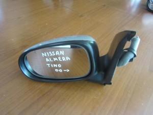 Nissan Almera Tino 2000-2006 ηλεκτρικός καθρέπτης αριστερός ασημί