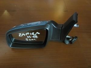 Opel Zafira 2005-2012 ηλεκτρικός καθρέπτης αριστερός γαλάζιος (5 καλώδια)