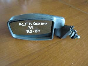 Alfa romeo 33 1986-1989 μηχανικός καθρέπτης αριστερός άβαφος
