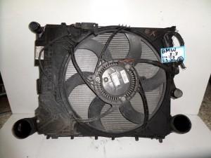 BMW X3 E83 2003-2010 2.5cc-3.0cc βενζίνα ψυγείο κομπλέ (νερού-air condition-βεντιλατέρ-intercooler)