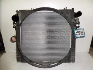 Cherokee liberty 2002-2008 2.5cc ψυγείο κομπλέ (νερού-intercooler)