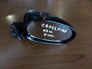 Chrysler crossfire 2003-2008 ηλεκτρικός καθρέπτης δεξιός μαύρος (5 καλώδια)