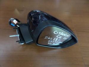 Citroen C4,DS4 2011-2017 ηλεκτρικός ανακλινόμενος καθρέπτης δεξιός μπλέ (13 καλώδια)