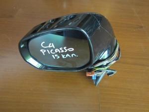 Citroen C4 Picasso 2007-2013 ηλεκτρικός ανακλινόμενος καθρέπτης αριστερός μαύρος (15 καλώδια)