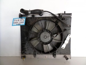 Daihatsu Terios 2006-2017 1.5 cc βενζίνη ψυγείο κομπλέ (νερού-air condition-βεντιλατέρ)