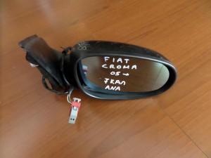 Fiat croma 2005-2011 ηλεκτρικός ανακλινόμενος καθρέπτης δεξιός ανθρακί (7 καλώδια)