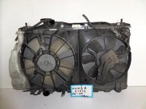 Honda civic 2006-2012 1.8.cc diesel ψυγείο κομπλέ (νερού-air condition-βεντιλατέρ)