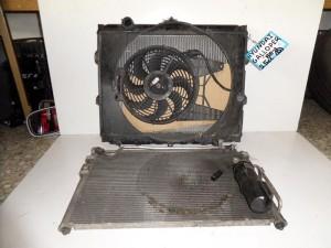 Hyundai galloper 88- 2.5cc diesel ψυγείο κομπλέ (νερού-air condition)