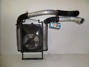 Hyundai H1 1998-2008 2.5cc diesel ψυγείο κομπλέ (intercooler-βεντιλατέρ)