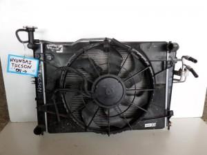 Hyundai tuscon 2004-2010 ψυγείο κομπλέ (νερού-air condition-βεντιλατέρ)