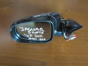 Jaguar XF 2007-2015 ηλεκτρικός ανακλινόμενος καθρέπτης αριστερός μαύρος (16 καλώδια)