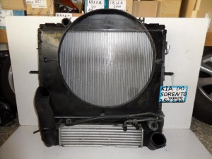 Kia Sorento 2002-2009 2.5c diesel ψυγείο κομπλέ (νερού-aircondition-βεντιλατέρ-λαδιού-intercooler)