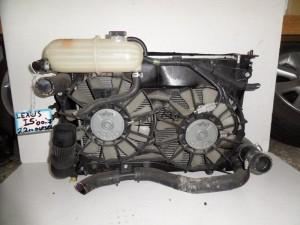 Lexus IS 250 2005-2013 2.2cc diesel ψυγείο κομπλέ (νερού-aircondition-βεντιλατέρ-intercooler)