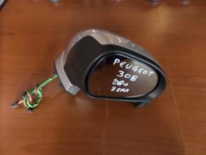Peugeot 308 2008-2013 ηλεκτρικός καθρέπτης δεξιός ασημί (8 καλώδια)