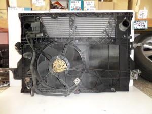 Renault master 2003-2010 diesel ψυγείο κομπλέ (νερού-intercooler-βεντιλατέρ-air condition-μετώπη)