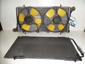 Rover MG 2001-2006 βενζίνη ψυγείο κομπλέ (νερού-air condition-βεντιλατέρ)