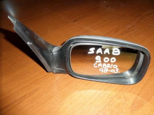 Saab 900 Cabrio 1998-2003 ηλεκτρικός καθρέπτης δεξιός ασημί