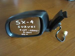 Suzuki sx4 2007-2011,Fiat sedici 2007-2014 ηλεκτρικός καθρέπτης αριστερός άβαφος (5 καλώδια)