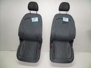 Toyota yaris verso 5θυρο 06 κάθισμα εμπρός αριστερό-δεξί γκρί